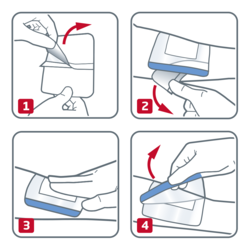 How to use Leukomed-Sorbact