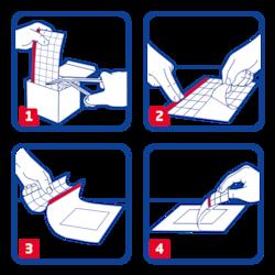 Hypafix transparent by Leukoplast usage instructions