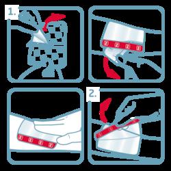 Leukomed T skin sensitive usage instructions