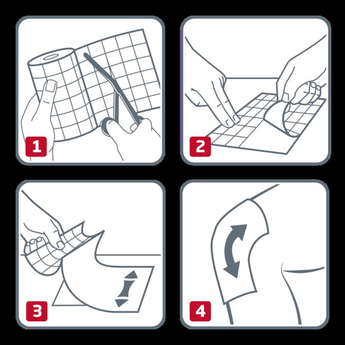 How to use Hypafix