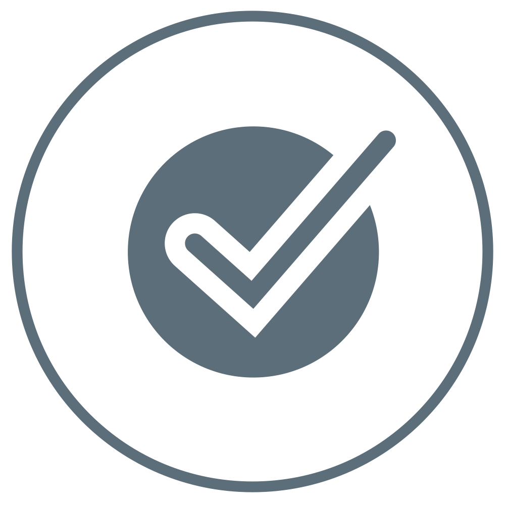 A ticked checkbox to demonstrate quick and easy application.