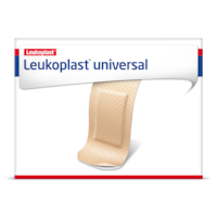 Packshot front view of Leukoplast Universal
